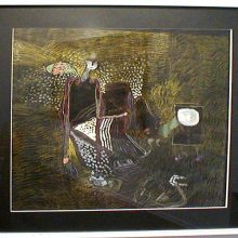 Canadian outsider artist Jahan Maka