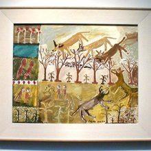 Jahan Maka - symbolist or outsider artist?