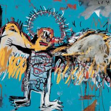 Jean-Michel Basquiat, Fallen Angel, 1981